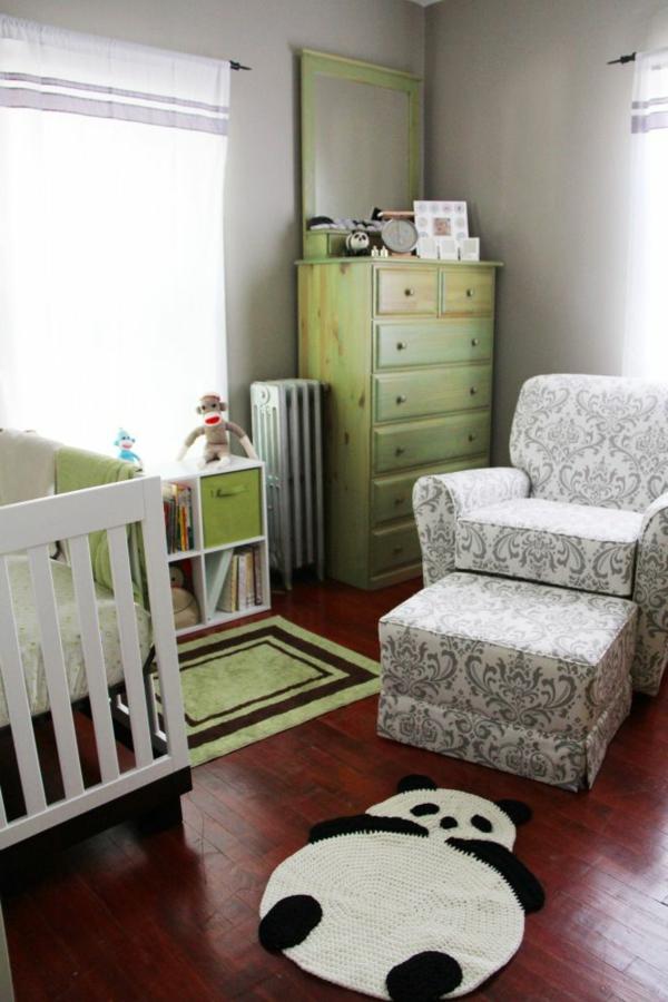 babyzimmer teppich interessantes lustiges design