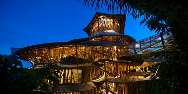 bambus holz etagenhaus offenheit frische luft licht