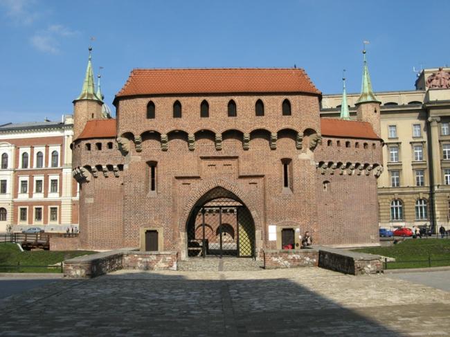 barbican Krakau Polen sehenswürdigkeiten