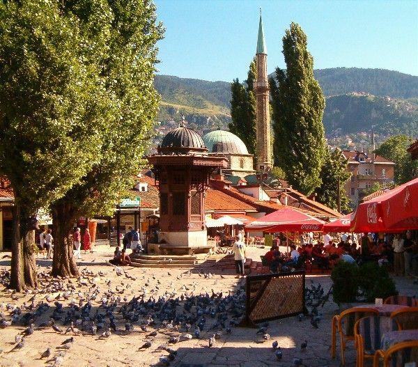 hauptstadt bosnien herzegowina sarajewo besichtigen. Black Bedroom Furniture Sets. Home Design Ideas
