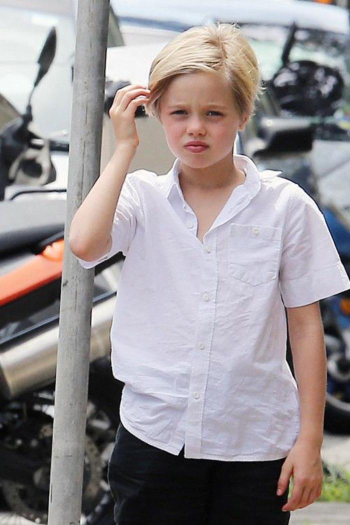 brad pitt und Angelina Jolie Kinder Shiloh Jolie Pitt