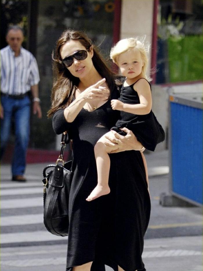 brad pitt und Angelina Jolie Kinder töchterchen