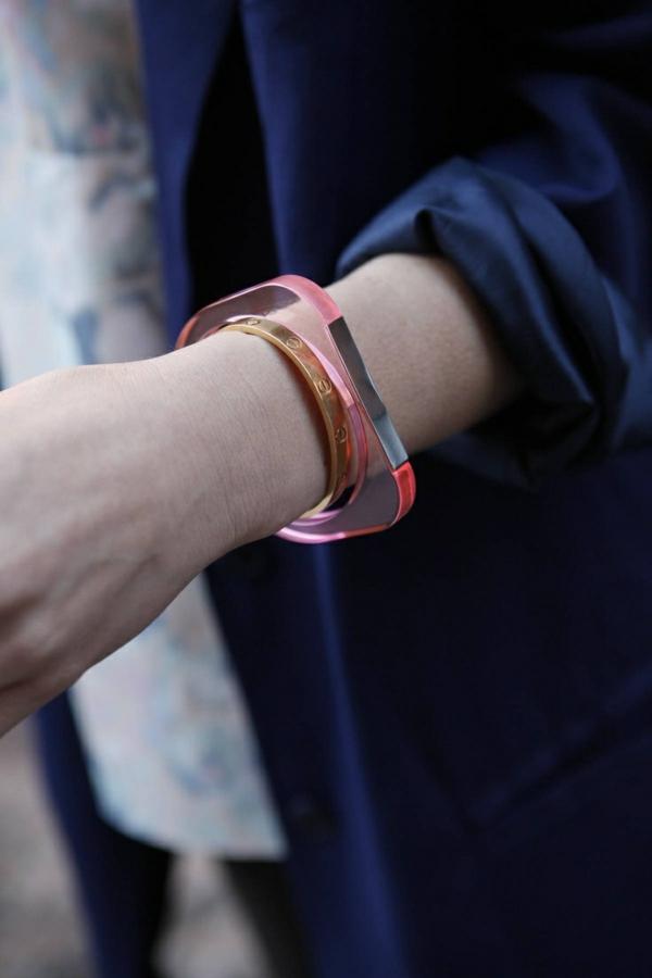 damen armbänder durchsichtig aus acryl accessoires
