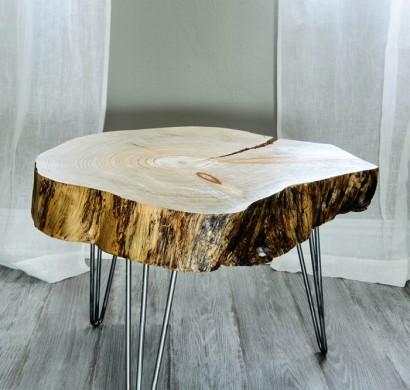 DIY Möbel und Wohnaccessoires aus Holzklötzen