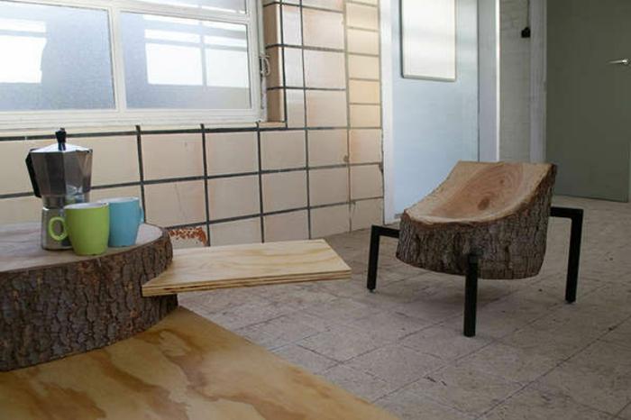 1001 ideen f r diy m bel und wohnaccessoires aus holzkl tzen. Black Bedroom Furniture Sets. Home Design Ideas