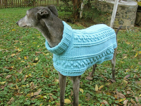 Free Dog Coat Knitting Patterns Uk