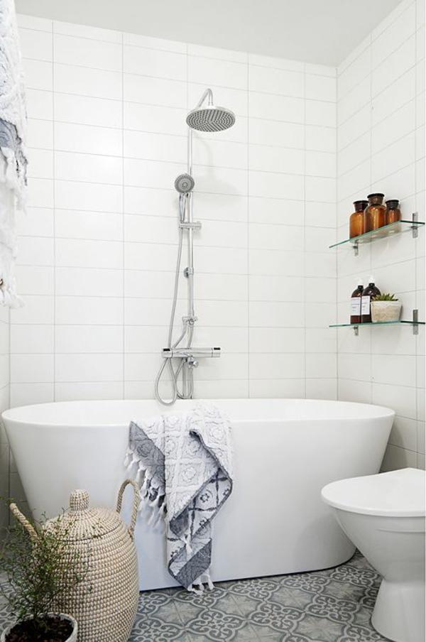 dusche renovieren moderne regendusche brausenkopf handgriffe