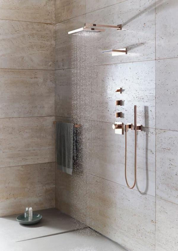 dusche renovieren moderne regendusche brausenkopf tauschen
