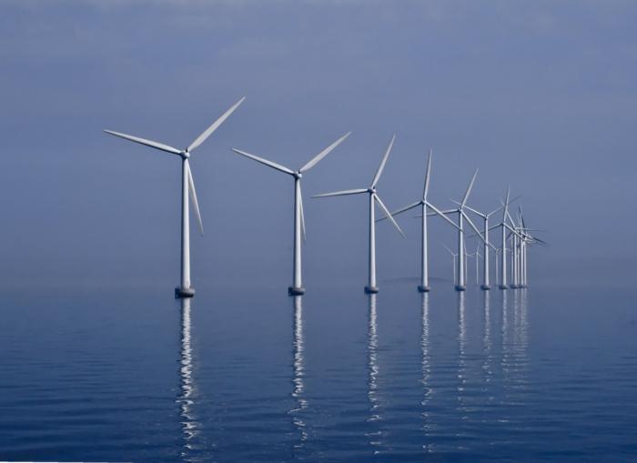 energieumwandlung windfarm meer effizient