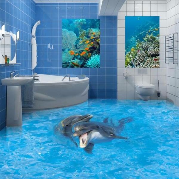 3D Bodenbelag Aus Epoxidharz U2013 Innovative Technologie Und Naturmotive ...