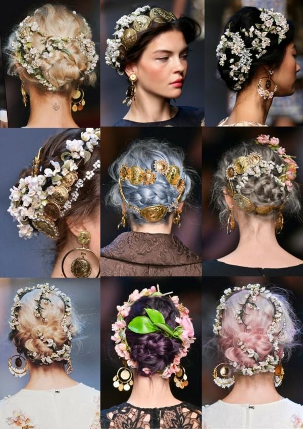 frisuren haar accessoires dolce und gabbana