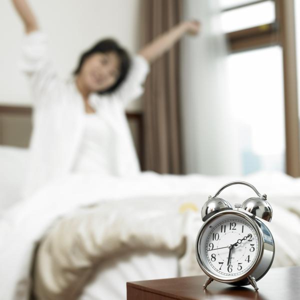 gesund schlafen wecker morgen lifestyle