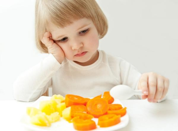 gesunde ernährung für kinder gemüse essen