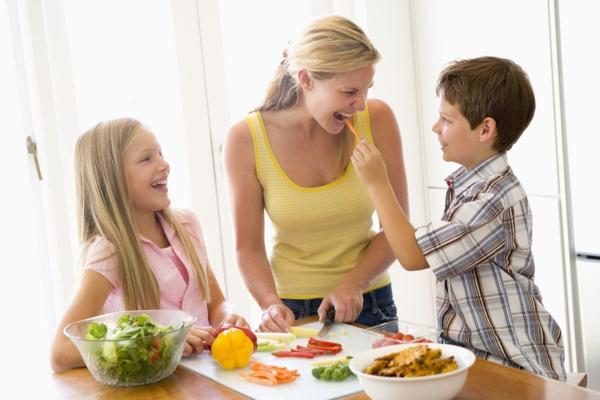gesunde ernährung für kinder mutter