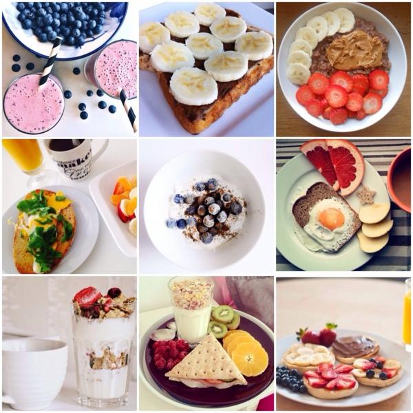 gesunde frühstücksideen fruchtig vitamine
