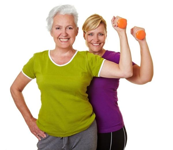 gesunder körper damen über 40 sport