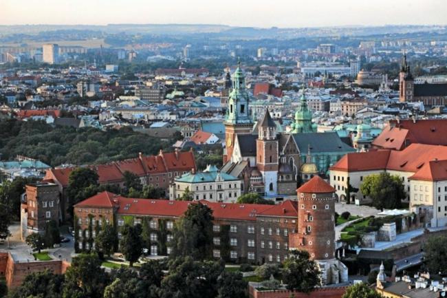 hauptstadt Krakau Polen urlaub und reisen
