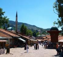Hauptstadt Bosnien Herzegowina – Sarajewo besichtigen