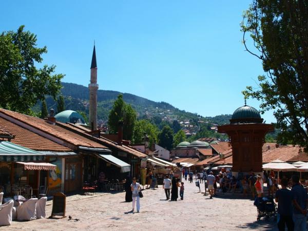 hauptstadt bosnien herzegowina sarajewo alte stadt