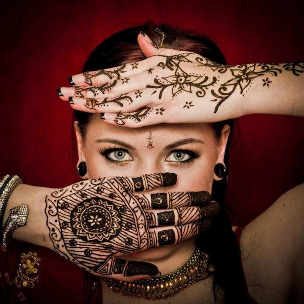 henna muster hände dekoration indisch orientalisch