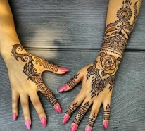 Henna Muster - Tradition Bedeutung Modetrend