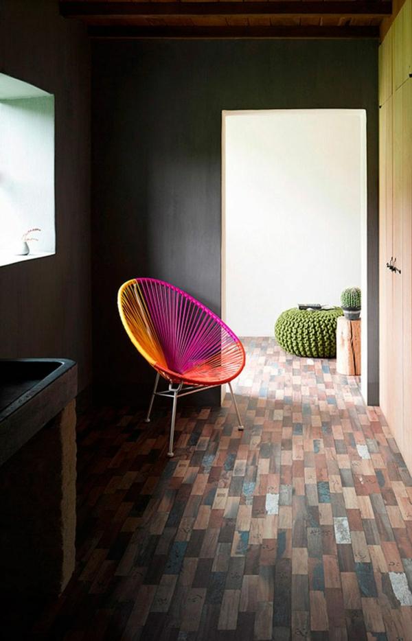 innendesign im mexikanischen stil grell und effektvoll. Black Bedroom Furniture Sets. Home Design Ideas