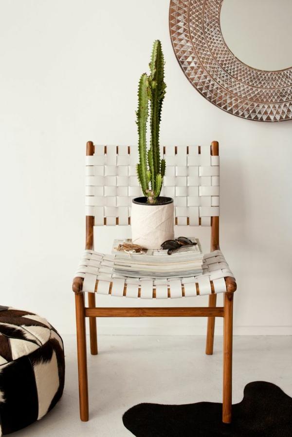 interieur design mexikanische deko ideen kakteenarten zimmerpflanzen