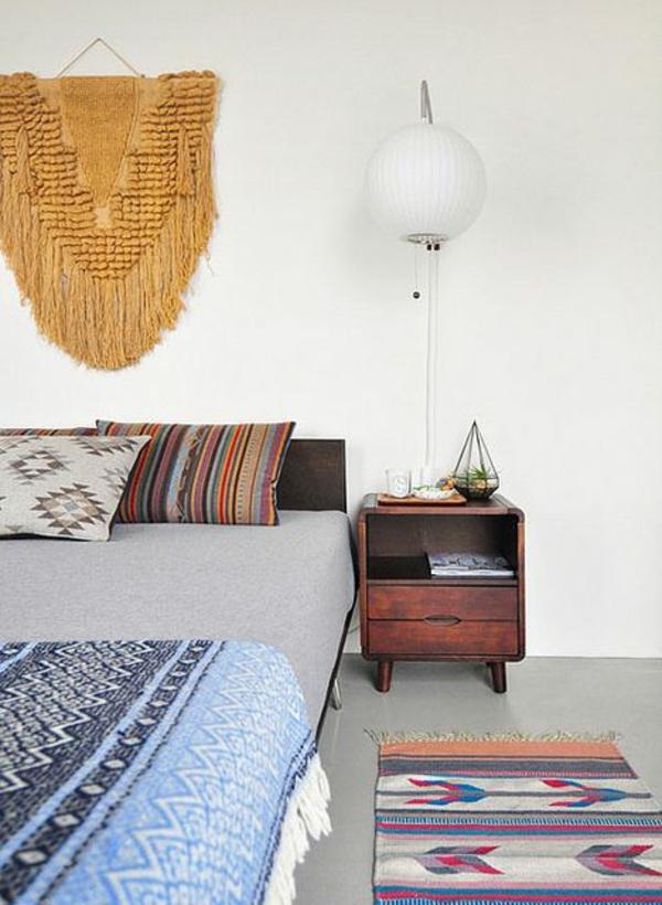 innendesign mexikanische deko ideen schlafzimmer einrichten