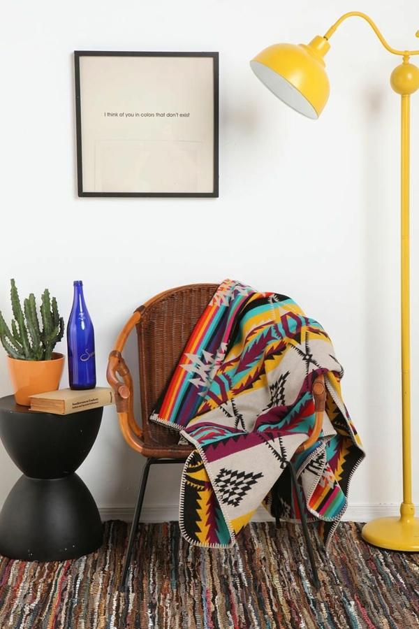 innendesign mexikanische möbel leseecke gestalten