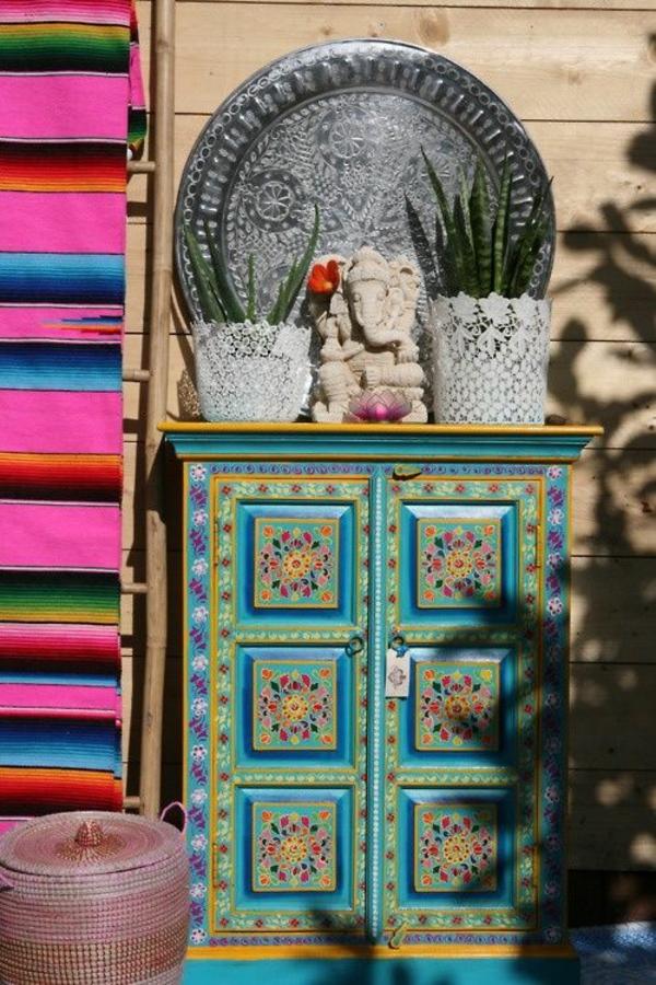 design mexikanische möbel traditionelle farben
