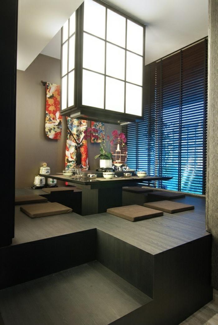 Chippendale wohnzimmer wei for Japanische zimmer deko