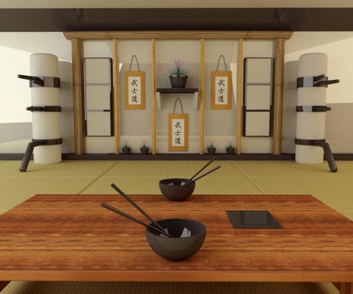Japanische deko ideen f r ihr europ isches zuhause for Tisch japanisches design
