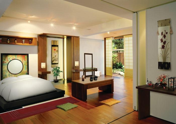 Japanische Schlafzimmer ~ Kreative Deko-ideen Und Innenarchitektur Schlafzimmer Japanisch