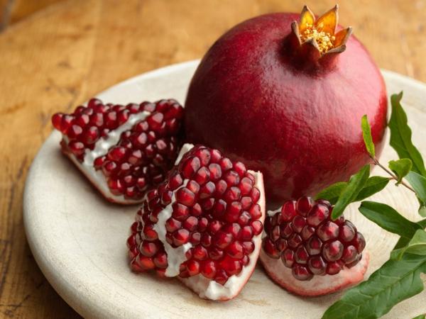 jungfrau sternzeichen granatapfel früchte essen