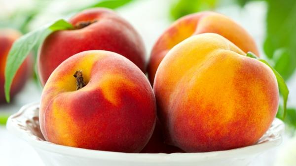 jungfrau sternzeichen pfirsiche essen früchte