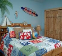 Kinderzimmer gestalten und dabei maritime Elemente einsetzen