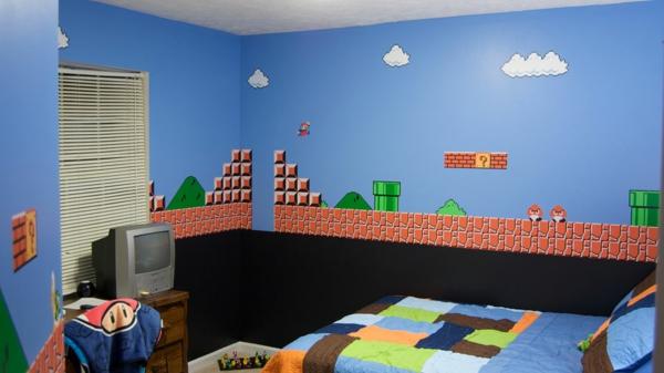 Babyzimmer junge wandgestaltung  Jungenzimmer gestalten-Inspirierende Kinderzimmer Ideen nur für Jungen