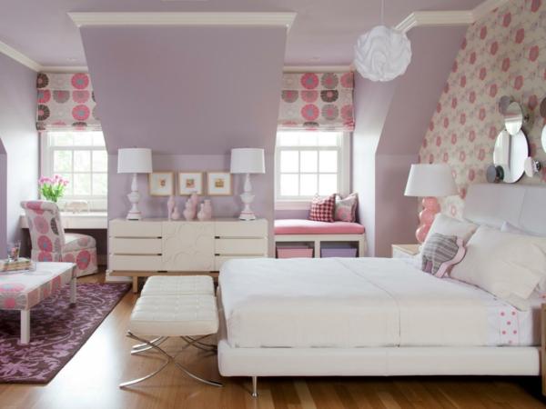 Kinderzimmer gestalten wand mädchen  Mädchenzimmer - In die schöne Mädchenwelt eintauchen...