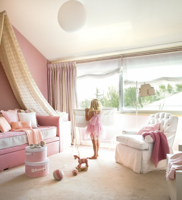 Kinderzimmer gestalten mädchen blau  Mädchenzimmer - In die schöne Mädchenwelt eintauchen...