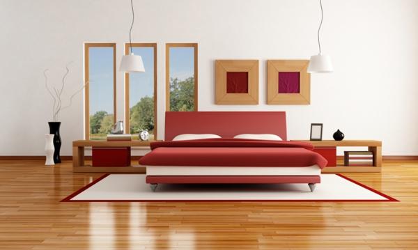Schlafzimmer Einrichtung Trend Bett Minimalistisch Parkett: Ein Komplettes Schlafzimmer Mit Stil Einrichten