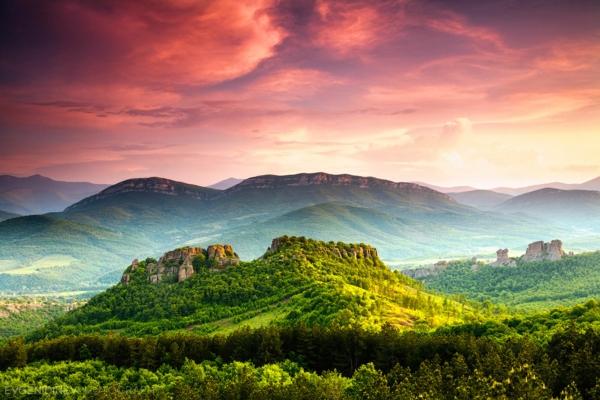 last minute bulgarien landschaft balkan