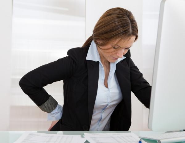 hauptsache gesund leben büro computer rücken schmerzen