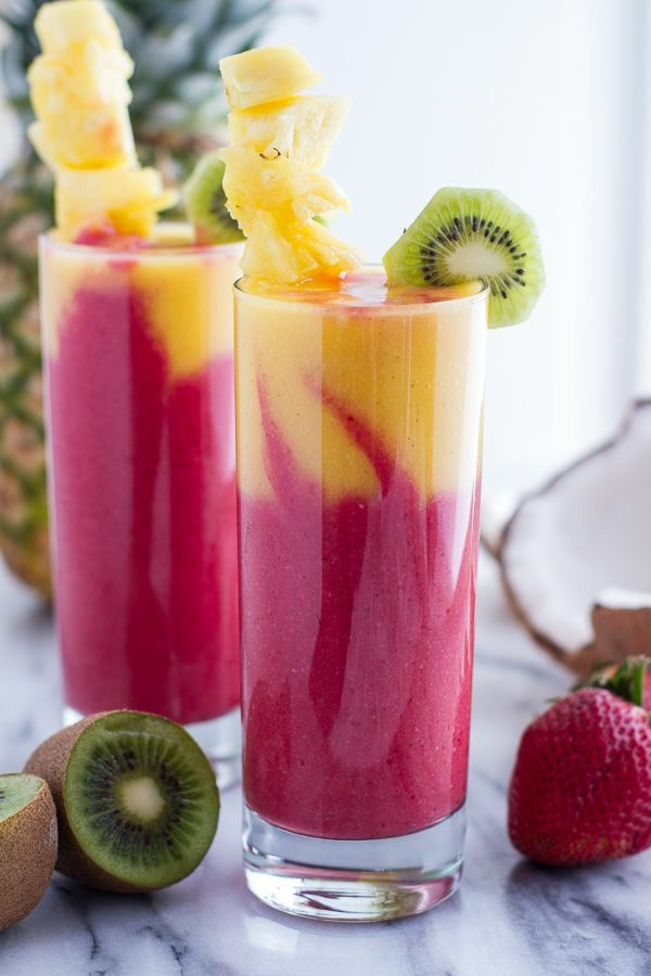 leichtes essen im sommer erfrischende getränke