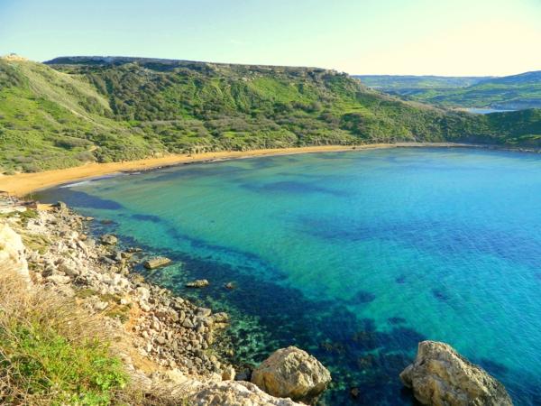 malta urlaub Għajn Tuffieħa Bay