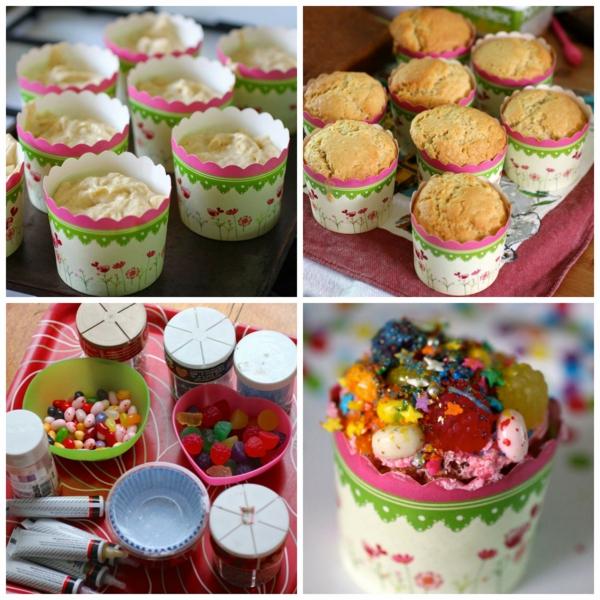 muttertagsgeschenke backen kreativ cupcakes