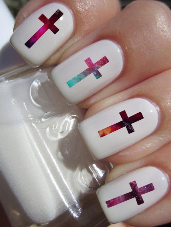 nail designs with crosses joy studio design gallery. Black Bedroom Furniture Sets. Home Design Ideas