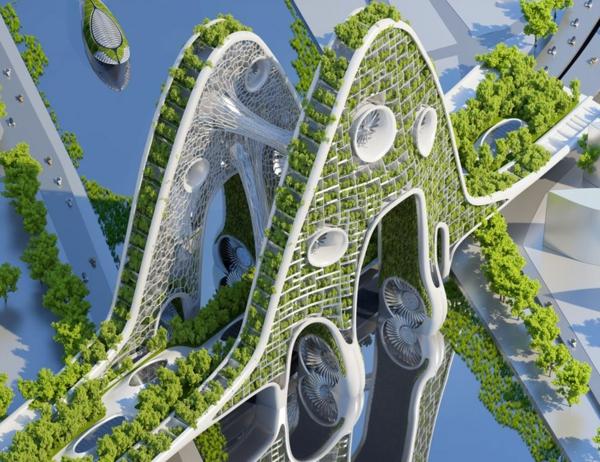 organische architektur nachhaltig brücke