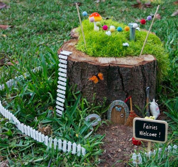 pflanztopf minigarten märchenhaft grüne wiese gartendeko