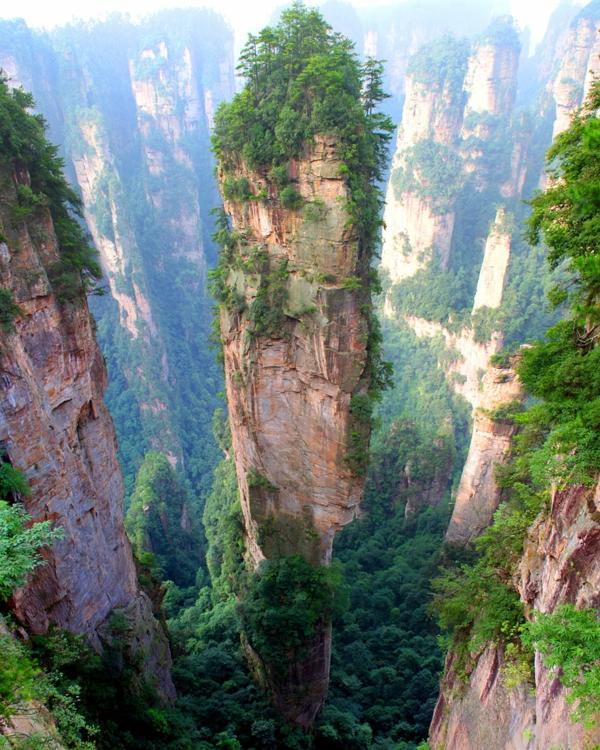 planet erde china tianzi mountains