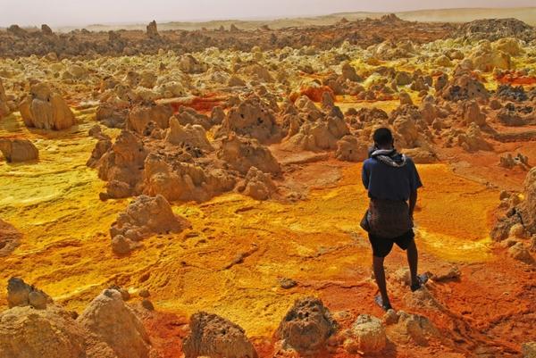 planet erde dallol vulkan äthiopien